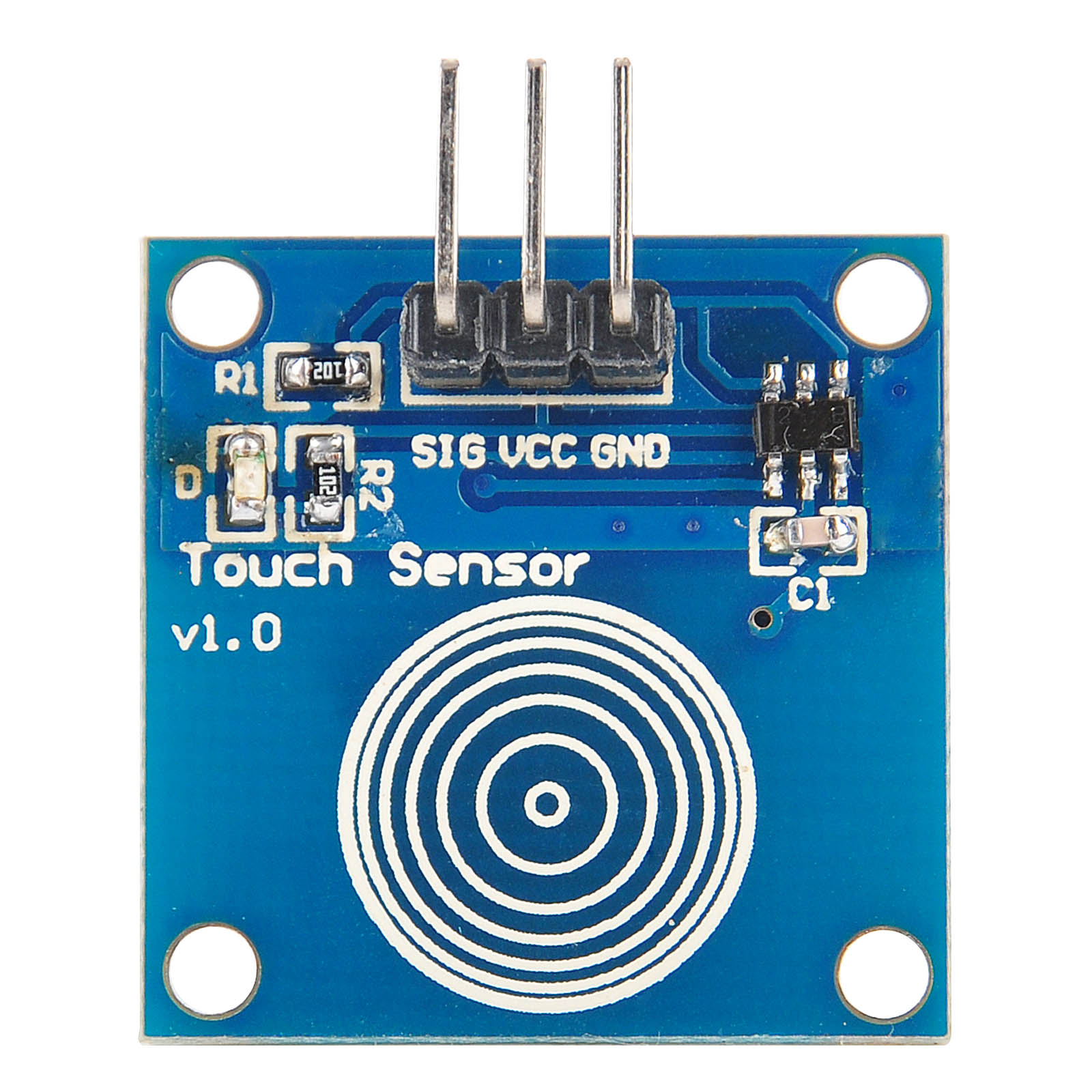 Electronics Sensors Touch Ttp223b Digital Touch