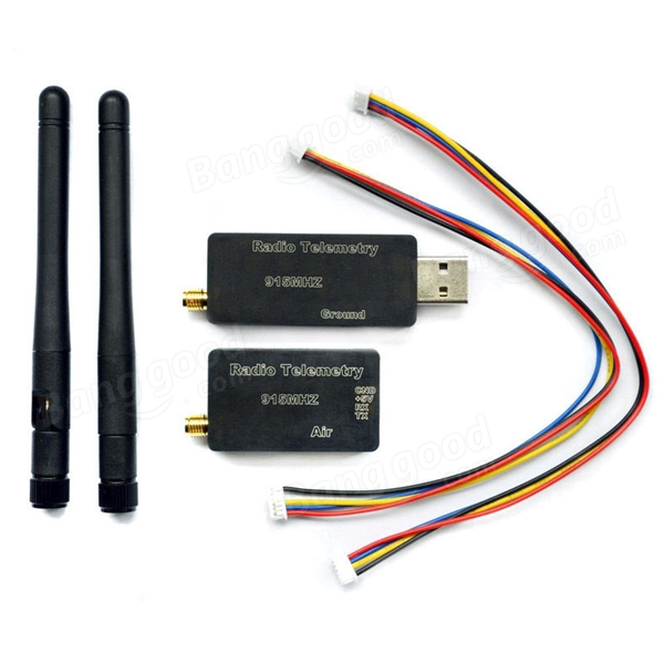 3DR Radio Telemetry Kit With Case 433MHZ For MWC APM PX4 Pixhawk for RC  Drone FPV Racing