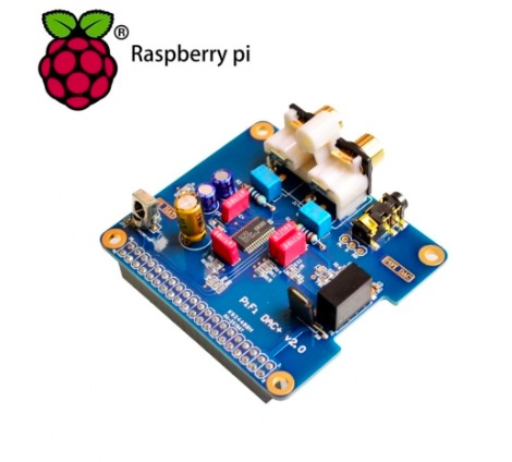 HIFI DAC Audio Sound Card Module I2S interface for Raspberry pi  B+,Raspberry Pi 2 Model B