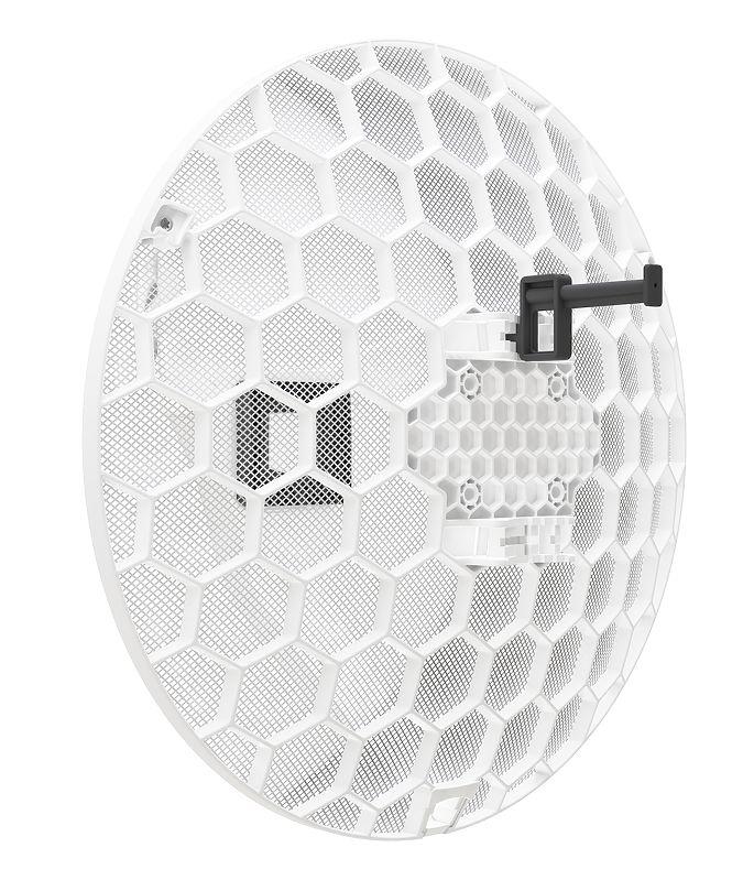 MikroTik RBLHGG-60ad, LHG 60G, 1Gbit full duplex up to 1500m, Quad-Core  716MHz, 256MB, 1xGigabit, L3