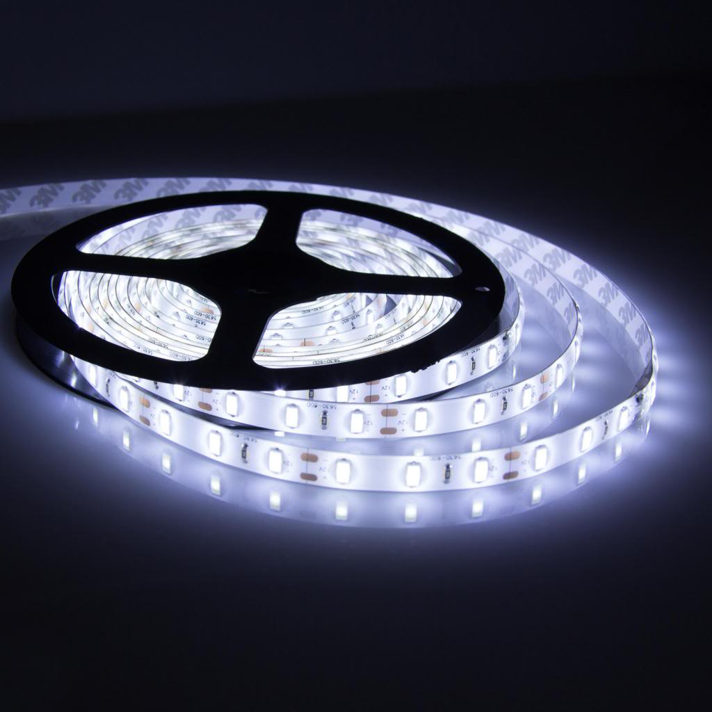 huge discount 6a49f 4d162 5M 5050 Non Waterproof Led Strip 12V (Cool White)