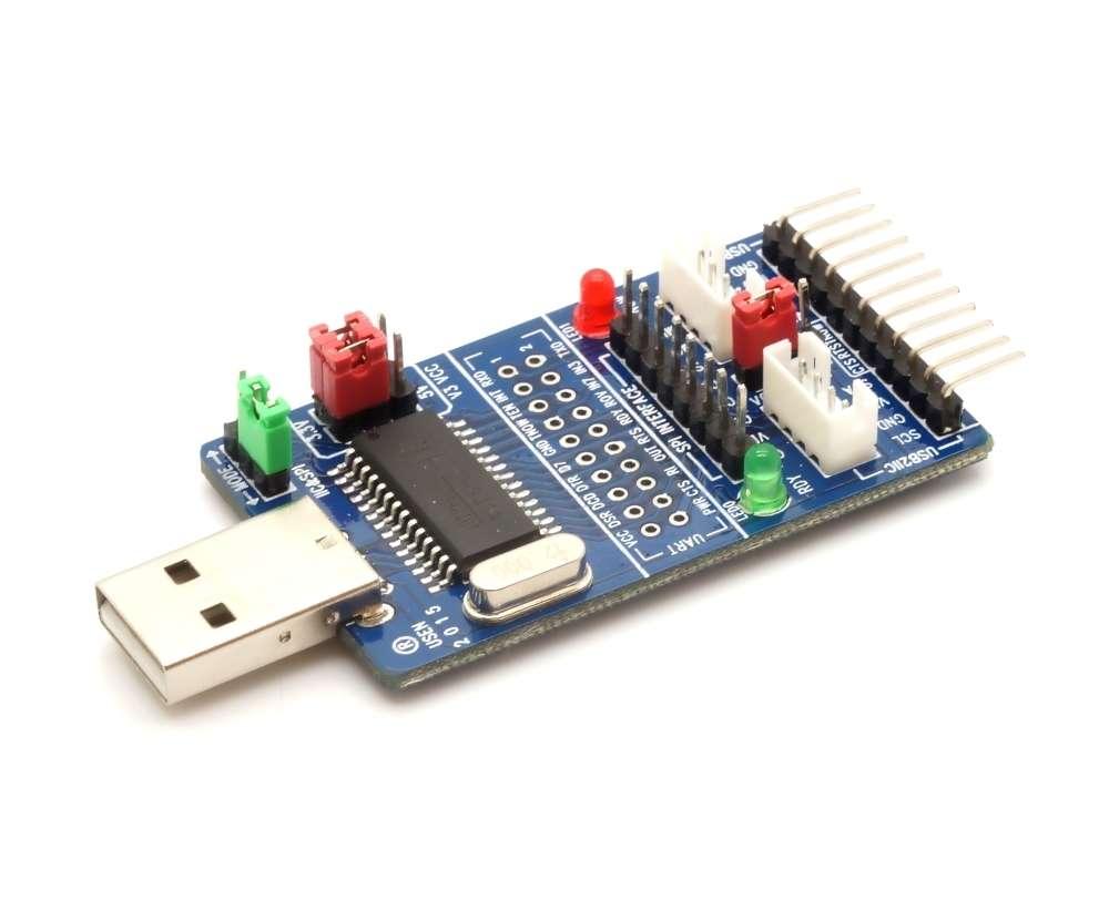 CH341A USB to I2C/IIC/SPI/UART/TTL/ISP Serial adapter (EPP/MEM)