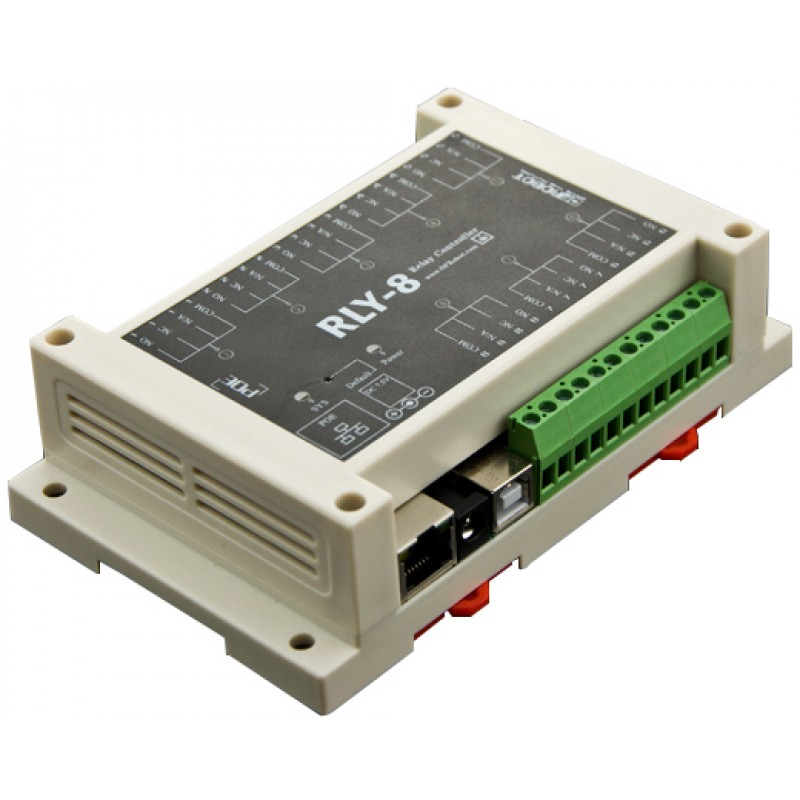 8 Channel Ethernet Relay Controller (Support PoE and USB) (DFR0289)