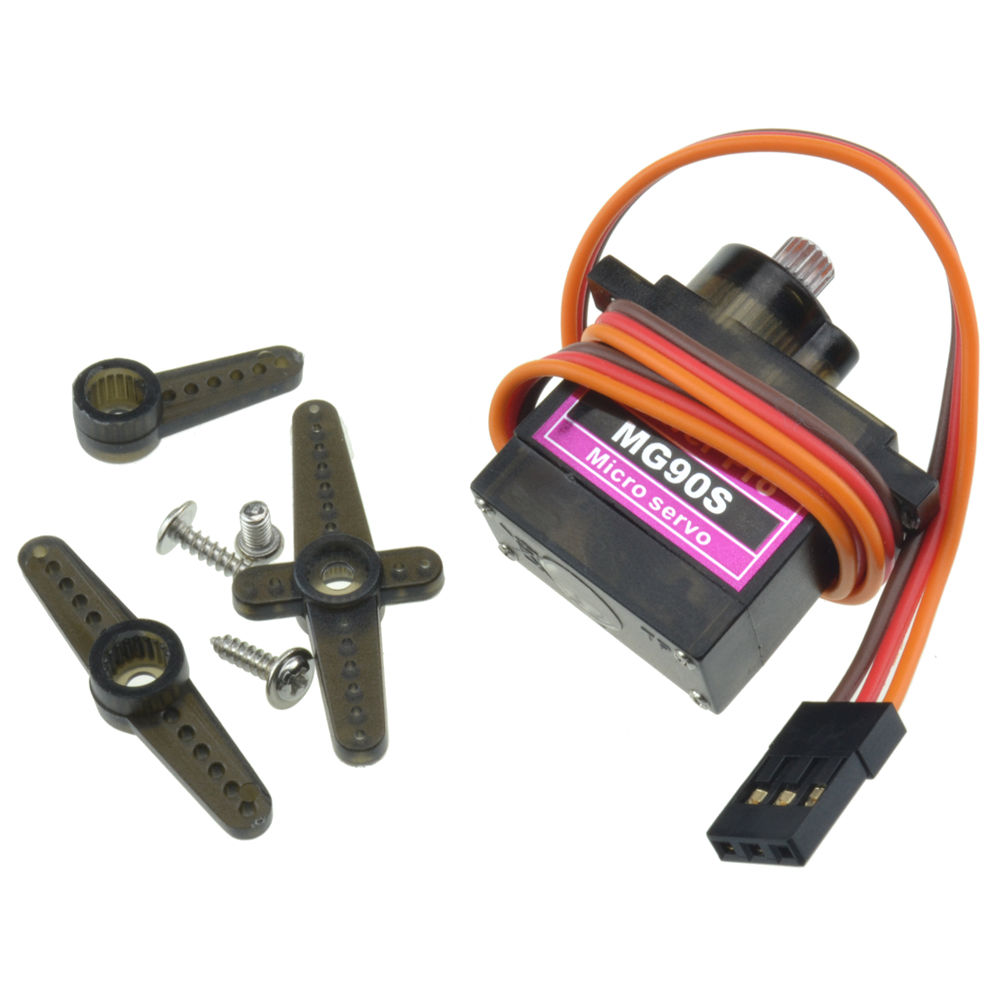 MG90S Metal Gear Servo for Arduino Micro Tower Pro 360 Degrees